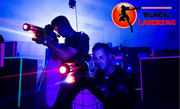 OecherDeal präsentiert Black Lasertag