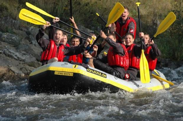 OecherDeal pr�sentiert Rur-Rafting mit Kanutotal