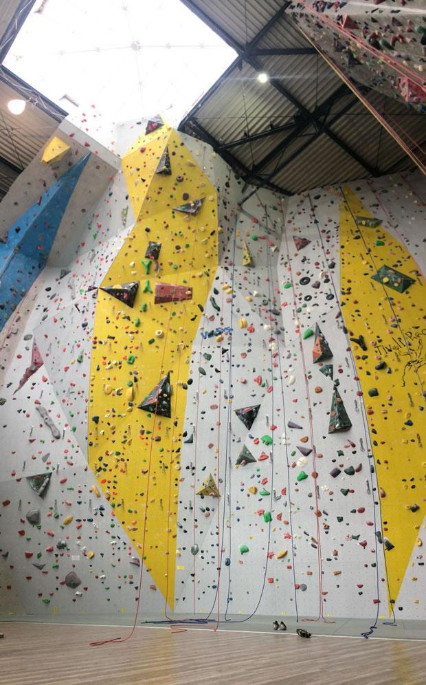 OecherDeal präsentiert die Kletterhalle Tivoli
