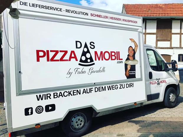 OecherDeal präsentiert das Pizzamobil Aachen