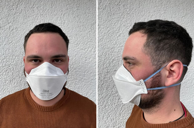 OecherDeal präsentiert Sellers mit M3 FFP2 Masken