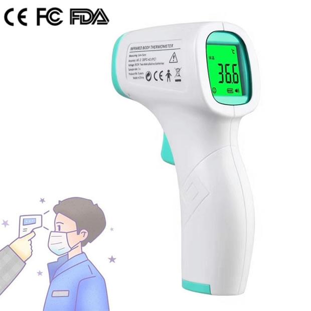 OecherDeal prsäentiert Sellers mit einem berührungslosen Fieberthermometer