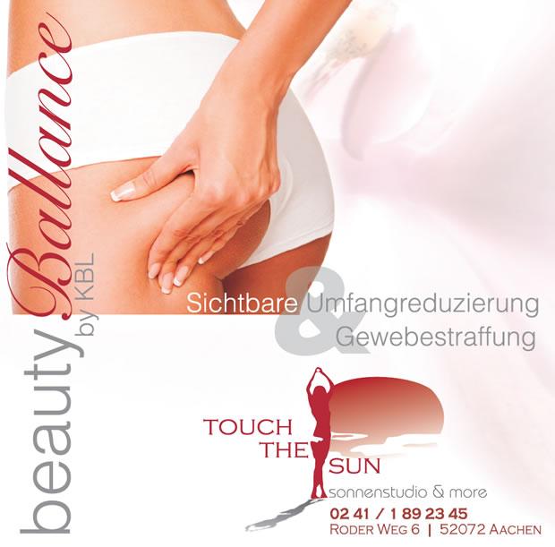 OecherDeal pr�sentiert Beauty Ballance bei Touch the sun